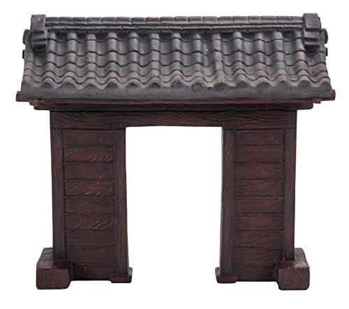 Miniatuur Wereld - Japanse Kasteel Poort (MW09-003)