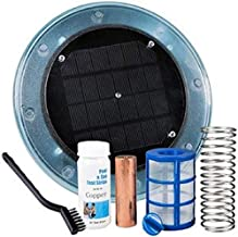 DR Global Solar Pool Ionizer - Keeps Your Pool or Spa Crystal Clear Year Round | Use 80% Less Chlorine, Algaecides or Other Harsh Chemicals | Saves You $$ Hundreds per Year in Chemicals