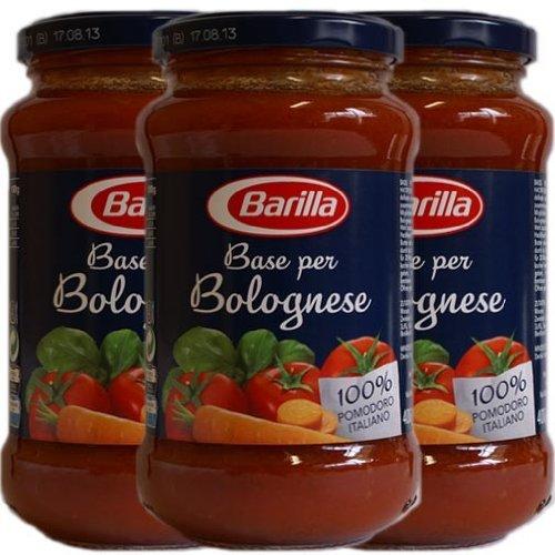 3x Barilla Sauce 'Base per Bolognese', 400 g