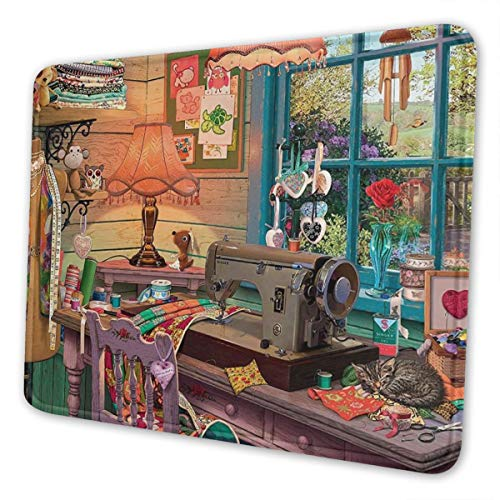 The Sewing Shed Multi-Size Gaming Mouse Pads for Adults and Children are Suitable for Office, Gaming, and Learning 10 X 12 Inch