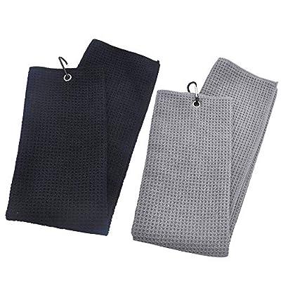 Mirrwin Golfhandtuch Tri-Fold Golf