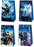24 Packs How to Train Your Dragon Party Gift Bags,How to Train Your Dragon Gift Bags Party Supplies How to Train Your Dragon Themed Party, Birthday Decoration Gift Bags How to Train Your Dragon suppliers