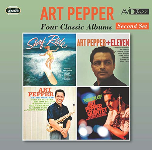 Four Classic Albums (Surf Ride / Art Pepper + Eleven (Modern Jazz Classics) / Gettin' Together! / Smack Up)