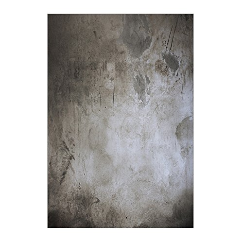Muzi 150x 220cm Brick Wall fondali fotografia sfondo vecchio muro di cemento nero cemento olio da parete fondale per neonati bambini studio fotografico puntelli xt-3913
