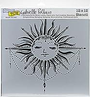 "Crafter's Workshop Template 12""X12""-Celestial Sun"