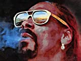 Posters-Galore Snoop Dogg Rapper Rap R&B Art Print Poster