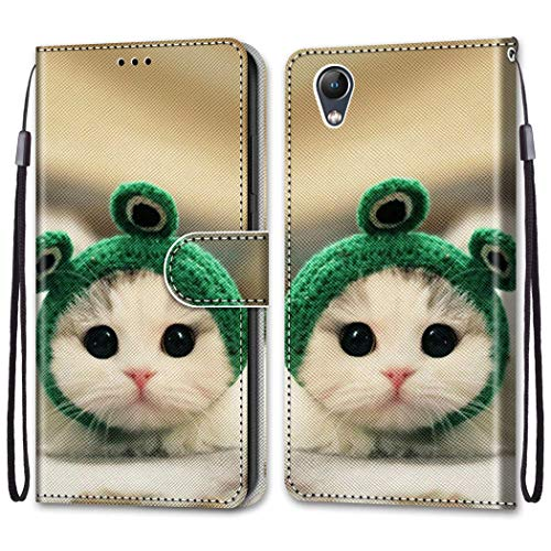 LEMORRY Case for Lenovo Vibe S1 Flip Leather Case, Premium Wallet Cover Shockproof Slim Soft Silicone TPU Protective Bumper Magnetic Phone Case for Lenovo Vibe S1, Design 5