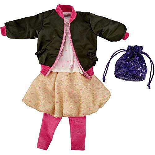Käthe Kruse 0141814 Casual Fashion Outfit S 41-43 cm, Oliv