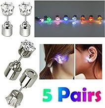 7519 Twinkling Pendant Earrings Sequin Gifts Jewelry Eardrop Ear Studs Colorful