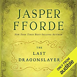 The Last Dragonslayer audiobook cover art