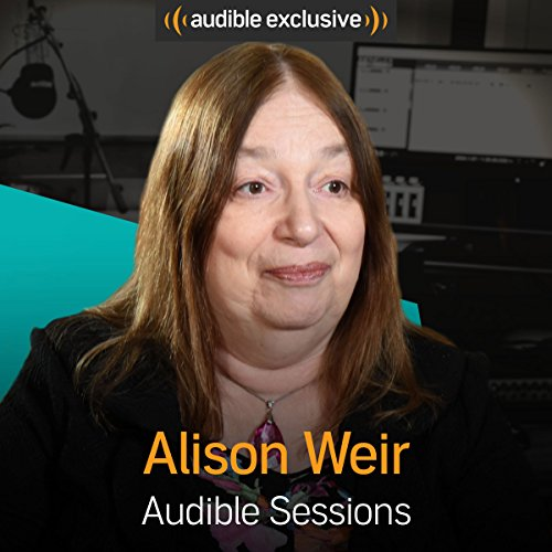 Alison Weir audiobook cover art
