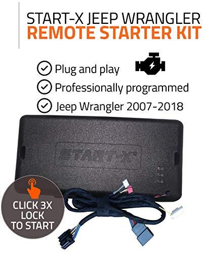 Start-X Remote Starter for Jeep Wrangler