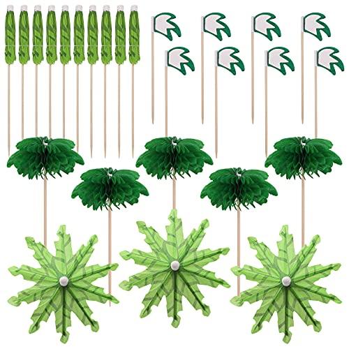 Hileyu 60 Piezas Sombrillas de Cóctel Papel Paraguas de Cóctel Palillos de Frutas Tropicales Decoración de Cóctel Accesorios De Cóctel para Boda Fiesta De Verano Comida