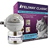Feliway Classic Calming Diffuser Kit for Cats (30 Day Starter Kit), Reduce Problem Scratching, Spraying, Hiding & More, Constant Calm & Comfort At Home