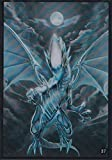 (100) Yu-Gi-Oh Small Size Card Protecter Blue-Eyes White Dragon Card Sleeves100 Pieces 63x90mm