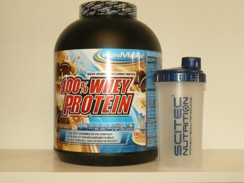 Ironmaxx 100% Whey Protein Kiwi-Yoghurt 2350g + Shaker