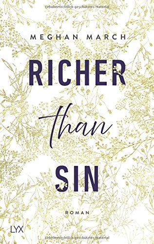 Buchseite und Rezensionen zu 'Richer than Sin (Richer-than-Sin-Reihe, Band 1)' von Meghan March