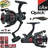 DAM Quick #1 5000 & 6000 FS 7BB - Freilaufrolle Angelrolle Stationärrolle - Freilauf Rolle +...