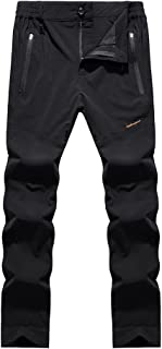 Hiking Pants for Outdoor Sport Men's Black Quick Dry Pants Loose Casual Waterproof Pants Cloth (Size : XXL)