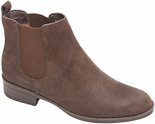 Alda Women's Bootie - Ankle High Leather Boot