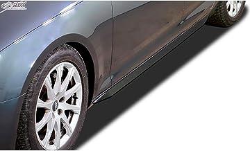 RDX Racedesign RDSL500041 - Falda lateral para  A4 B9 Sedan/Avant 2015 (Abs Glossy), color negro