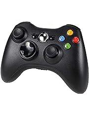 Diswoe Xbox 360 Wireless Controller, Wireless Game Controller z ulepszonym, ergonomicznym designem, Joypad, Gamepad Wireless do PC/Xbox 360 (Windows XP/7/8/10)