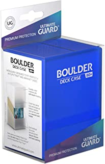 Ultimate Guard UGD010683 Boulder Deck Case, 80 Plus, Standard Size, Sapphire