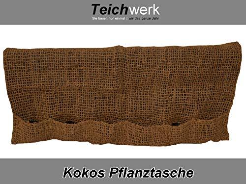 TEICHWERK 6er Pflanztasche|Kokostasche|Kokosmatten Teich Pflanztaschen