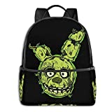 Fnaf-Springtrap Student School Bag School Cycling Leisure Travel Camping Outdoor Backpack