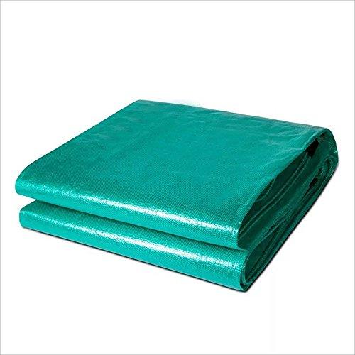 Zfggd Bâche en Polyéthylène Plate-Forme Extérieure Auvent Auvent Anti-âge Étanche à l'eau -200 / m², Vert, épaisseur 0,45 mm, 22 Tailles en Option (Couleur : Green, Taille : 10x12m)