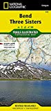 Bend, Three Sisters (National Geographic Trails Illustrated Map (818))
