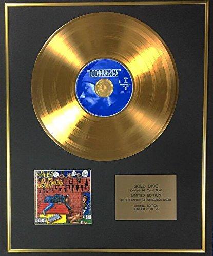 Century Music Awards Snoop Dog – Exklusive Limited Edition 24 Karat Goldscheibe – Doggystyle