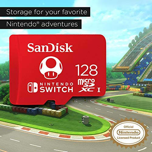 SanDisk microSDXC UHS-I card for Nintendo Switch 128GB - Nintendo licensed Product