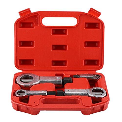 Heavy Duty Nut Splitter Broken Damaged Corroded Stuck Screw Nut Removal Splitting Tools(#5)