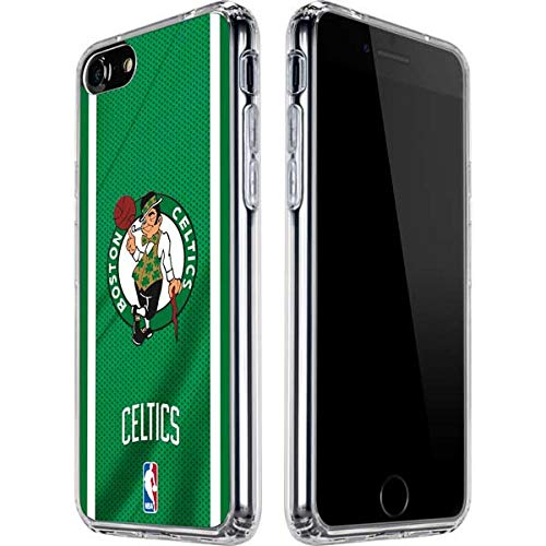 Skinit Clear Phone Case for iPhone SE - Officially Licensed NBA Boston Celtics Design