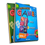 6 Portable Travel Game Activities Notepad On...