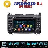 Autoradio 2DIN Android 7.1 GPS DVD USB compatible Mercedes classe B W245/classe A W169 / Sprinter / Vito / Viano / B200 / B150 / B170 / A180 / A150 / Crafter / LT3