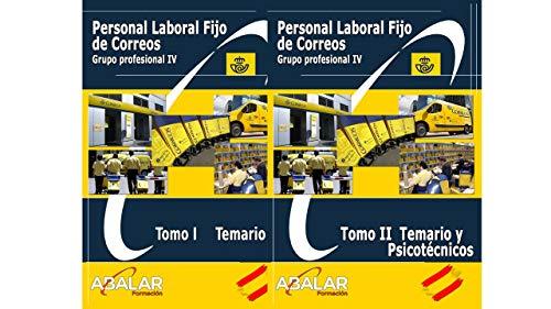 Personal Laboral Fijo Correos - Pack Temario Completo, Resúmenes y Exámenes. Edición Sep 2020 - 2 tomos (Español) Tapa blanda – 20 septiembre 2020