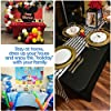 ABCCANOPY Spandex Tablecloths for 4 ft Home Rectangular Table Fitted Stretch Table Cover Polyester Tablecover Table Toppers #3