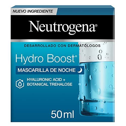 Neutrogena Hydro Boost Mascarilla de Noche Hidratante, 50 ml