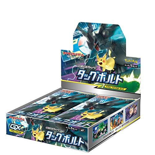 ポケモンカードゲームサン&ムーン 拡張パック タッグボルト [BOX]