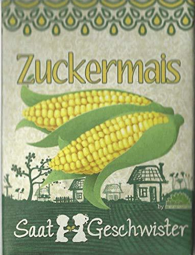 Die STadtgärtner Zuckermais-Saatgut | Mais-Samen für den Garten, Balkon oder Terrasse | zum Selbstpflanzen
