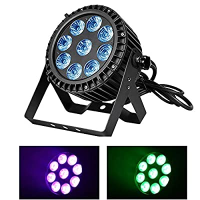 Boulder LED Slim Par Waterproof IP65 Outdoor 9x15w RGBWA 5in1 Wash Stage light DMX512 for TV studio, theater, auditorium, stage, T-stage, concerts