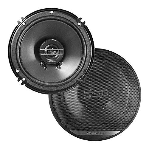"""Pioneer TS-G1620F 6-1/2"""" 2-Way Coaxial Speaker 300W Max. / 40W Nom, 12.90In. X 7.40In. X 3.20In, Black"""
