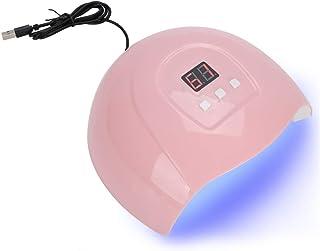 【?????? ?? ???????】Lámpara de uñas LED, secador de esmalte de uñas con sensor inteligente de 54 W, lámpara LED para herramientas de decoración de uñas para el hogar y el salón