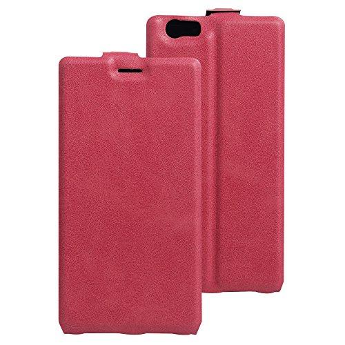 Litao-Case CN Hülle für ELEPHONE M2 hülle Flip Leder + TPU Silikon Fixierh Schutzhülle Case 3