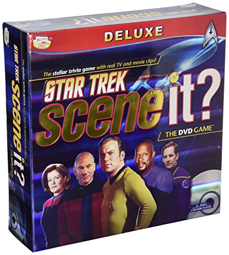 Scene it? Star Trek DVD Game by Scene It