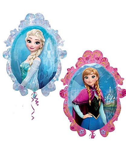 Toyland Disney Gefrorene ELSA und Anna Balloon Double Sided Supershape Folienballon-Party