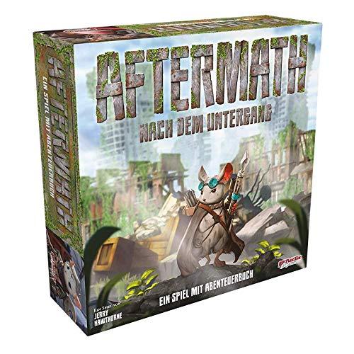 Plaid Hat Games Asmodee PHGD0034 Aftermath, Abenteuerbuch-Spiel, deutsch