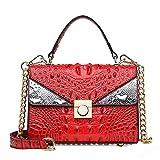 N / A Bolso Mujer AtmóSfera De Lujo Bolso De Mujer Hombro Messenger Bag Hardware Chain Bag